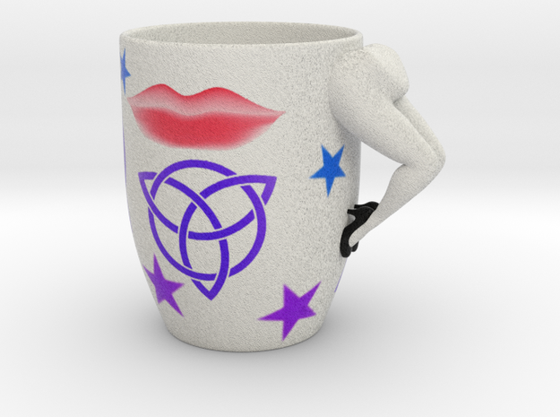 Sexy Coffee Mug in Full Color Sandstone