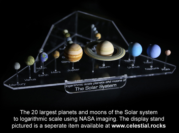 the major moons in solar system - photo #11