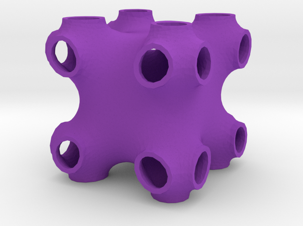 Doubled P-surface 3d printed