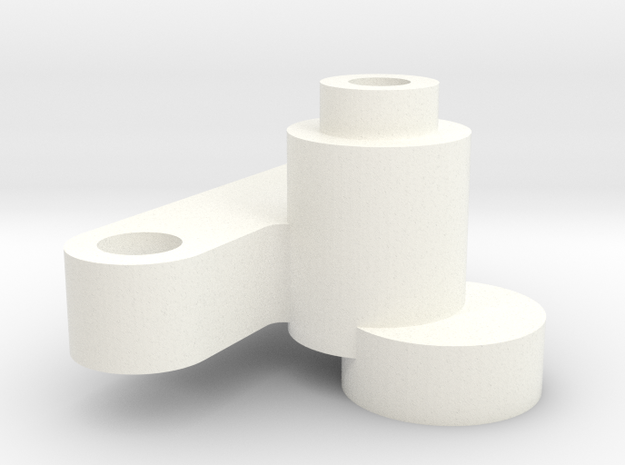 S99-S02 D132 chip adapter in White Processed Versatile Plastic