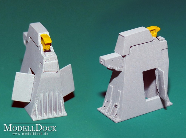 1/144 - Holddown Arms LC-34 (2x opened doors) in Smoothest Fine Detail Plastic
