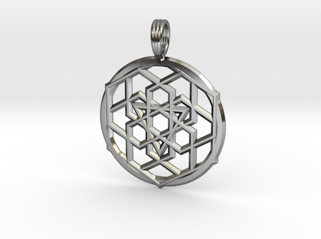 BINOCULAR STEREOPSIS in Fine Detail Polished Silver