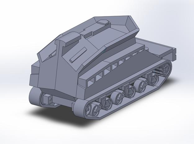 Sherman BARV 1/285 6mm 3d printed