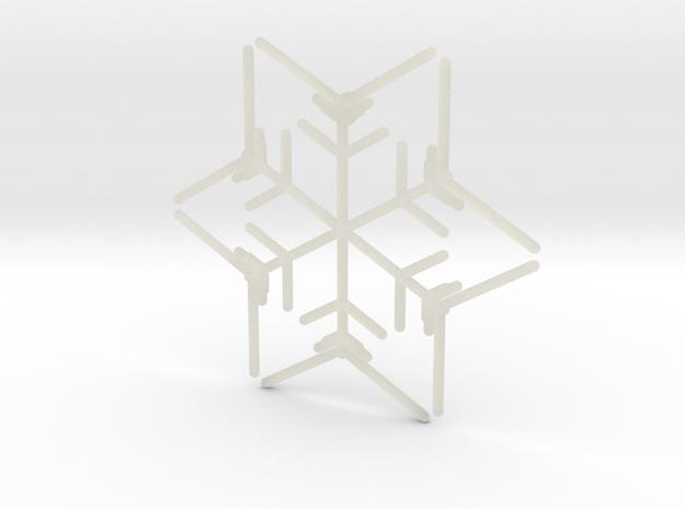 Snowflakes Series I: No. 9 3d printed