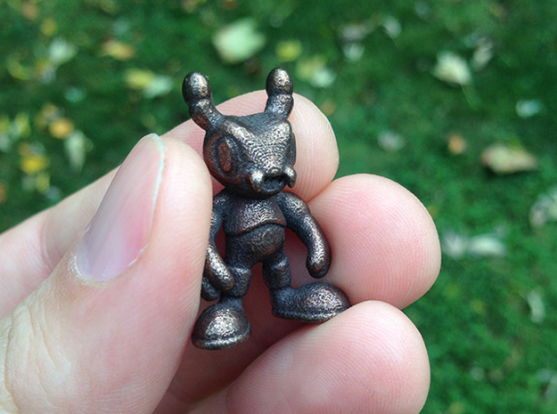 ANt in Polished Bronze Steel