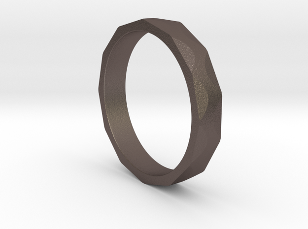 Iron Ring Size 5.25 in Stainless Steel
