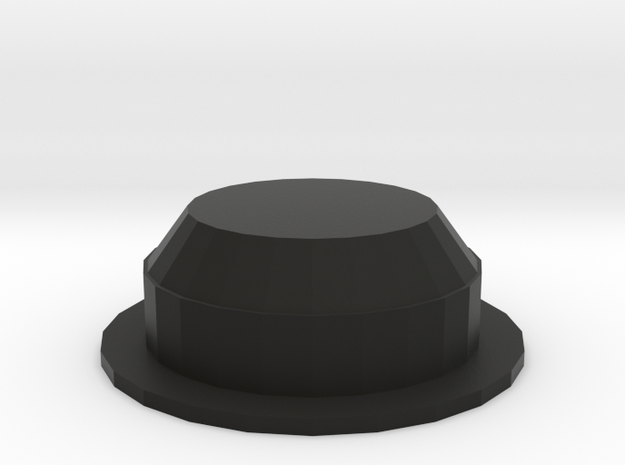 Tavor Handgrip Button - Concave in Black Strong & Flexible