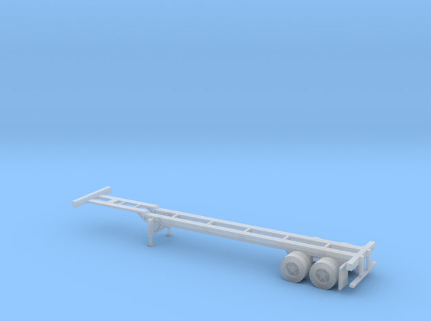 N 40' Container Chassis in Frosted Extreme Detail