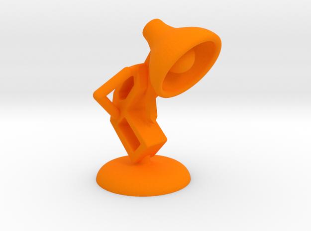 Lala - Trying Tie - DeskToys in Orange Processed Versatile Plastic