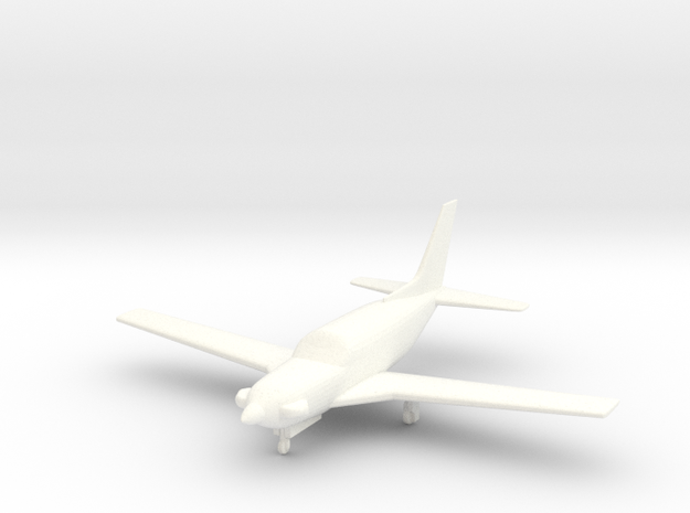Piper PA-46T Meridian in 1/96 scale in White Processed Versatile Plastic