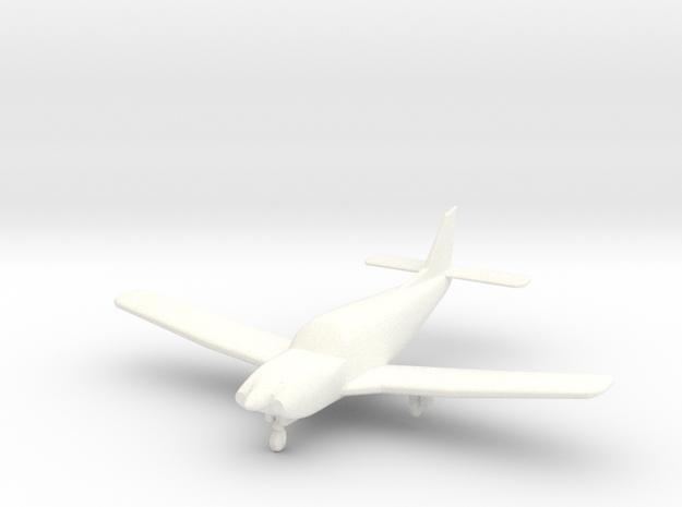 Piper Saratoga PA-32R in 1/96 in White Processed Versatile Plastic