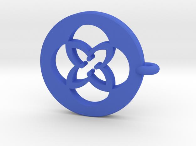 TU Earing Plastic - alternative model in Blue Processed Versatile Plastic
