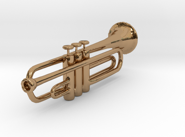 Trumpet in Polished Brass