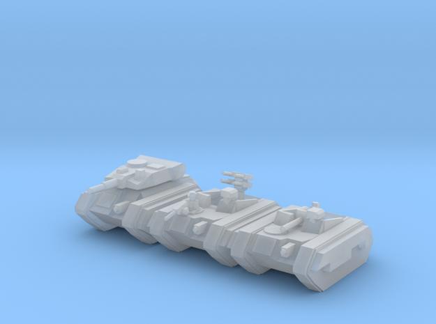 [5] Airborne Armor Platoon in Smooth Fine Detail Plastic