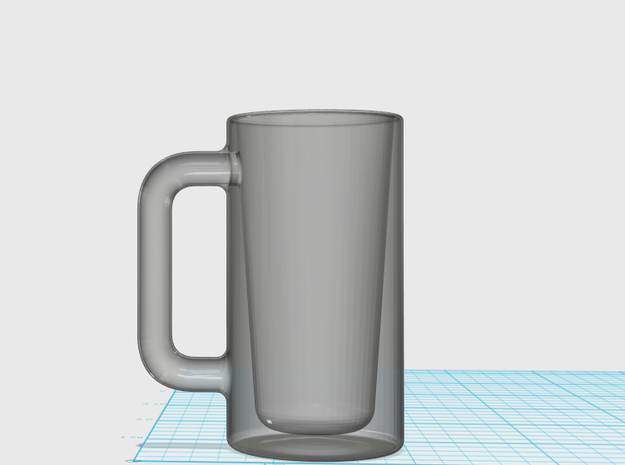 Most Interesting Shot Glass in Smooth Fine Detail Plastic