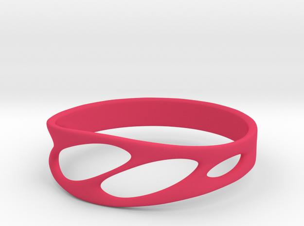 Frohr Design Bracelet Light in Pink Strong & Flexible Polished