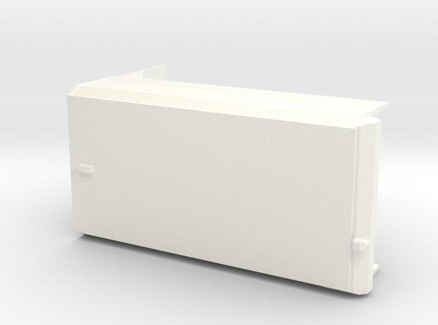 Tippkasse6x4 in White Processed Versatile Plastic