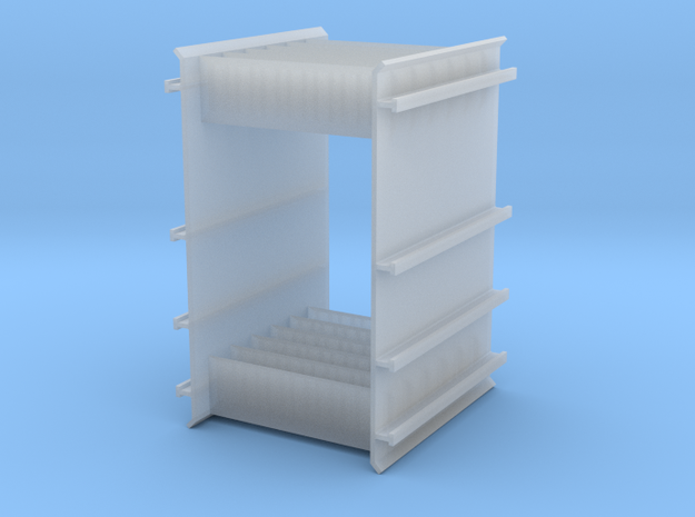 End Rack For Rail Train 3d printed