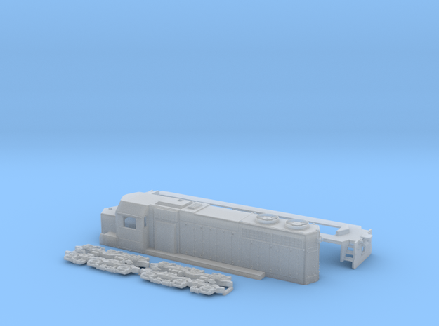 SDL-39 1:160 Scale in Smooth Fine Detail Plastic