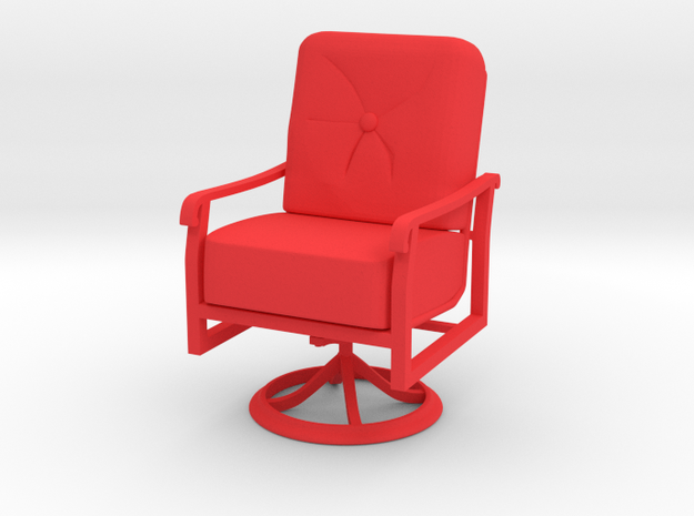 Mini Chair in Red Processed Versatile Plastic