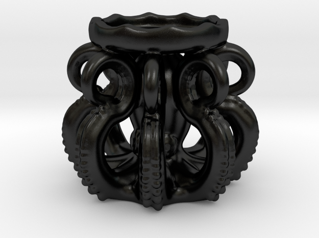 Ceramic Octopus Candle Holder 3d printed