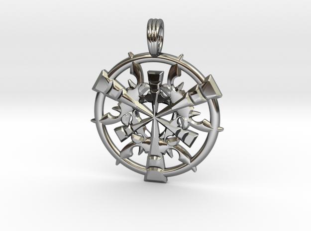 CORAL DIMENSION in Premium Silver