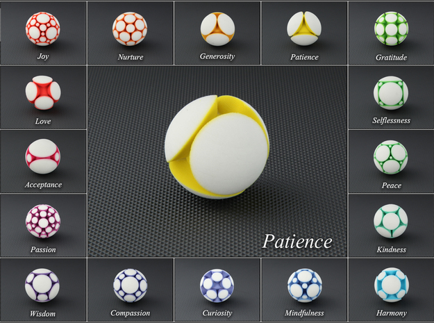 LuminOrb 1.7 - PATIENCE in Full Color Sandstone
