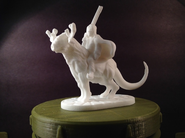 Taiga Strider (28mm/Heroic scale miniature)