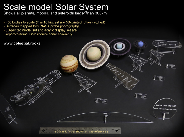 planets and moons to scale - photo #18