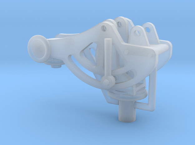 1/18 Mount for the Browning 30 cal Machine gun in Smooth Fine Detail Plastic