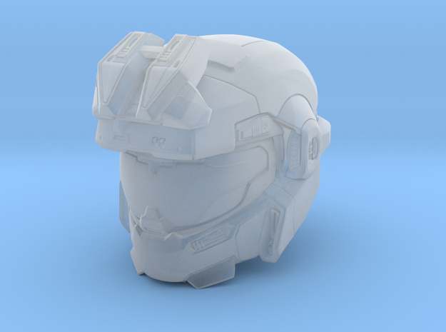 halo reach grenadier/Jorge 1/6 scale Helmet in Smooth Fine Detail Plastic