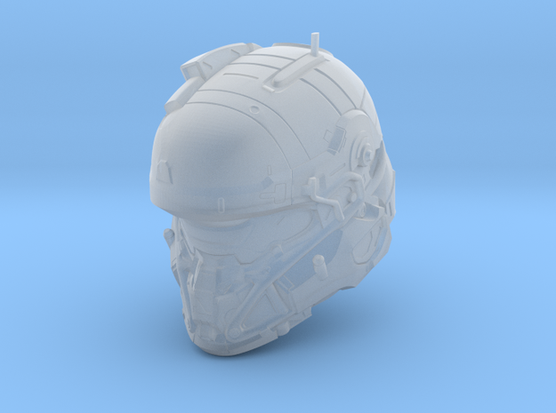 Halo 5 Tanaka/Technician 1/6 scale Helmet in Smooth Fine Detail Plastic