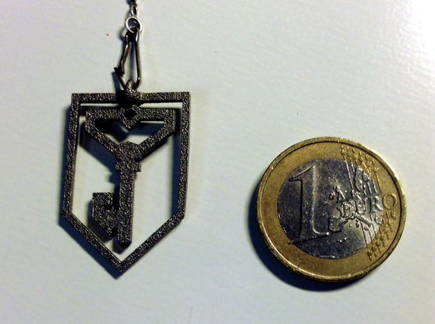 Ingress Resistance Pendant in Polished Nickel Steel