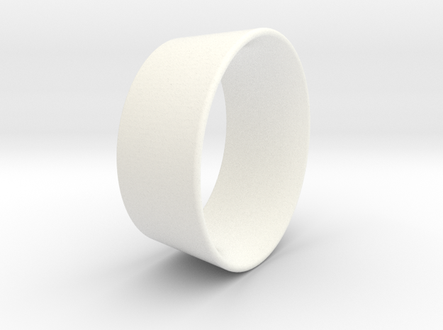 Kort Scaled ,857 in White Strong & Flexible Polished