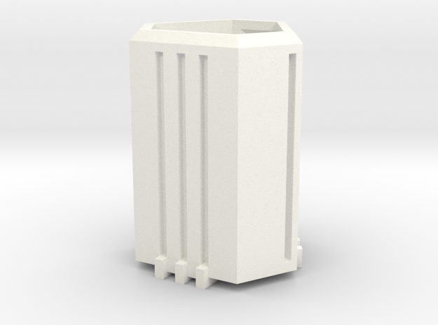 Capsule Mug (Tall) in White Processed Versatile Plastic