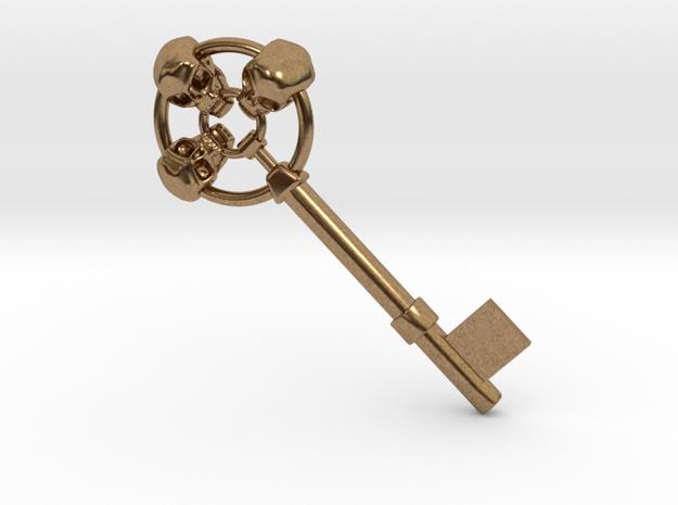Three skulls key