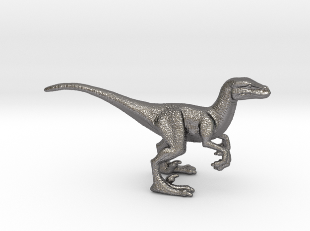Raptor Game Piece in Polished Nickel Steel