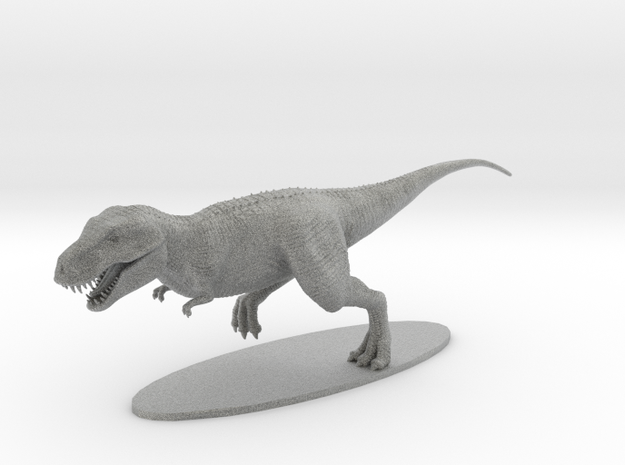 T-Rex in Metallic Plastic