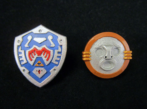 Shield Pack II in Smooth Fine Detail Plastic