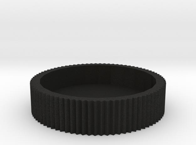 E-M5 Control Dial in Black Acrylic