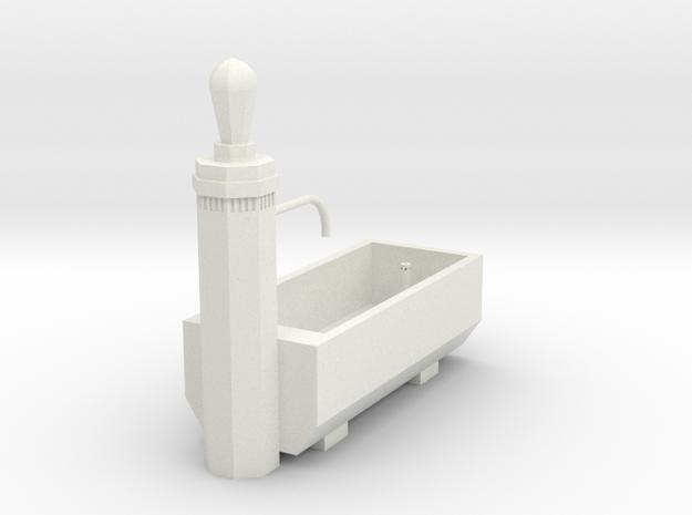RhB Fountain - Filisur Version in White Natural Versatile Plastic