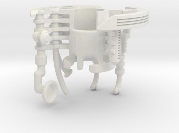 V2-01-4-CC - Master Chassis - Part4 CC insert 2 in White Natural Versatile Plastic