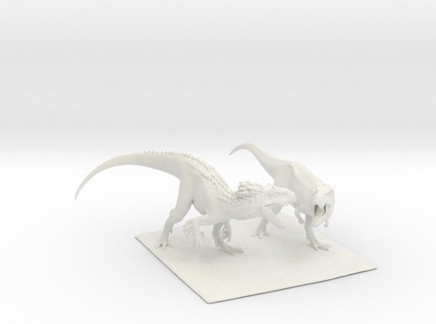 Dinosaur Indy Vs T rex 25 cm.