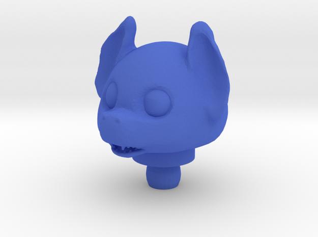 Mini Glyos Bat Head. in Red Processed Versatile Plastic
