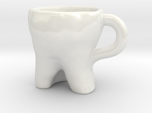 DDC -EspressoSet Tasse in Gloss White Porcelain