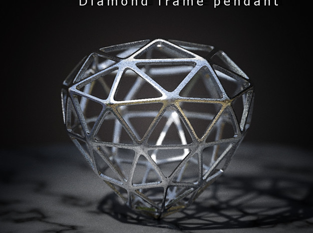Diamond Frame Pendant