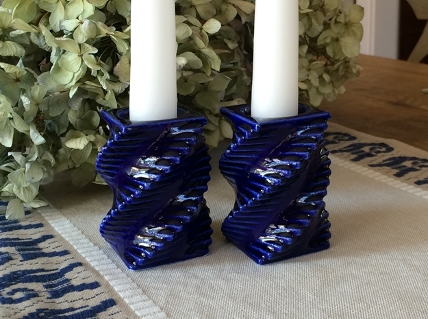 Candle Holder - Porcelain Candleholder (Small)
