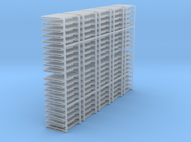 "HO scale 40""x48"" pallet - 100 pack in Smooth Fine Detail Plastic"