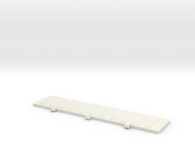 PS2CD4427 Roof Hatch 1:12 in White Strong & Flexible