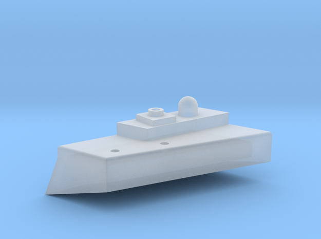 1/700 Sponson for Novorossiysk Conversion in Smooth Fine Detail Plastic